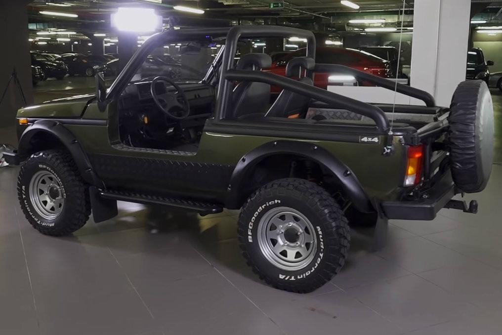 Lada без крыши и дверей: супертюнинг «Нивы»