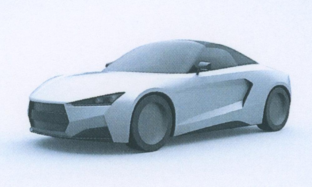 Для спорткара «Крым» разработали очередной вариант дизайна