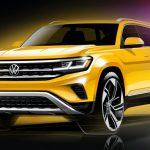 Раскрыта внешность обновленного Volkswagen Teramont