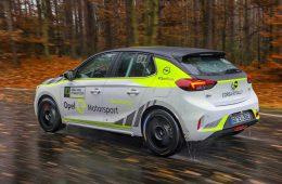 Opel приступил к испытаниям раллийного электрокара