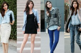 С какой одеждой лучше надеть рубашку из джинсовой ткани?