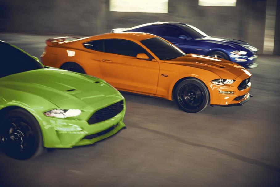 Американская полиция потратила деньги от штрафов на покупку Ford Mustang