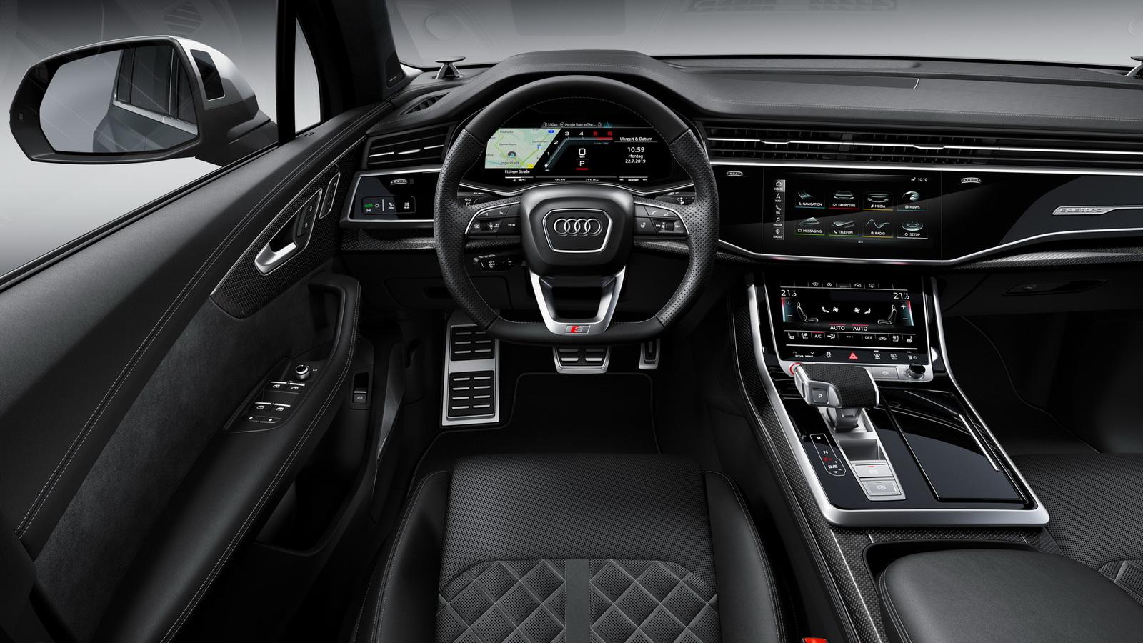 «Горячие» кроссоверы Audi SQ 7 и SQ 8 получили безиновый V8