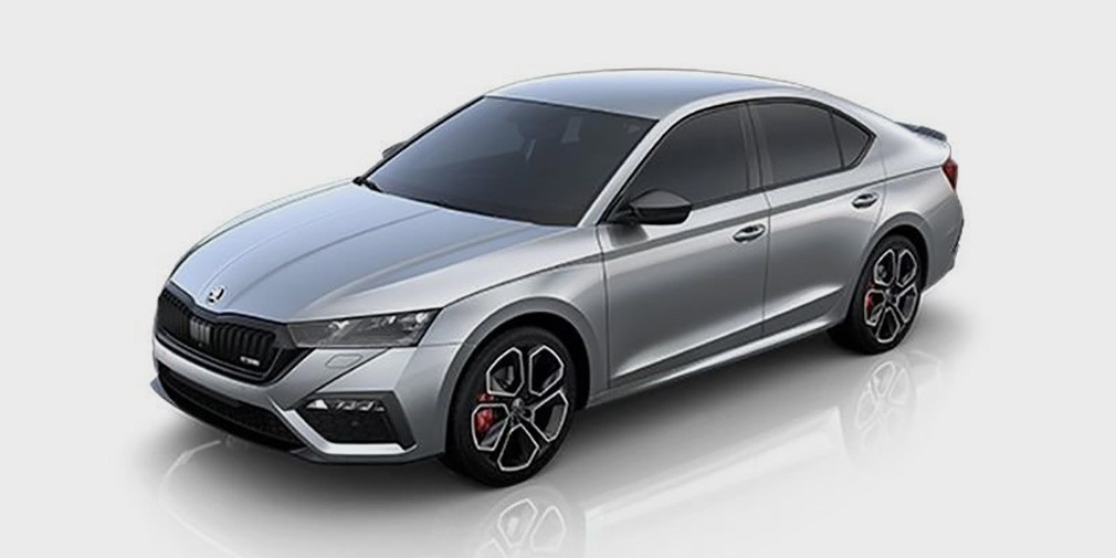 Новую Skoda Octavia RS рассекретили до премьеры