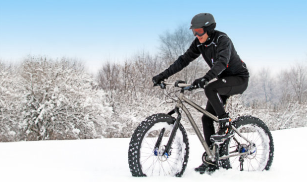 Особенности зимнего велокатания