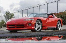 Dodge Viper от создателя Ford Mustang ушёл с молотка по двойной цене