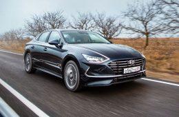 Новая Hyundai Sonata с 2-литровым мотором «доехала» до России