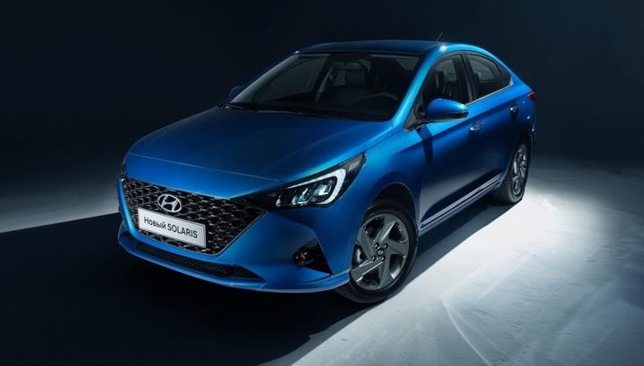Новый Hyundai Solaris для России: внешность официально раскрыта