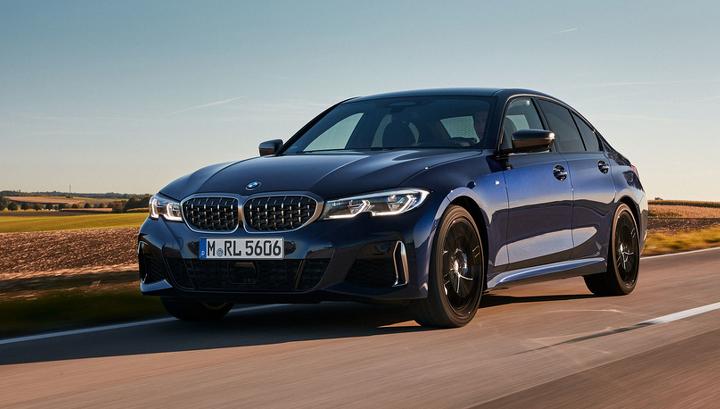 Появился снимок огромных «ноздрей» новой BMW M3