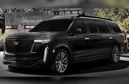 Из нового Cadillac Escalade будут строить лимузины