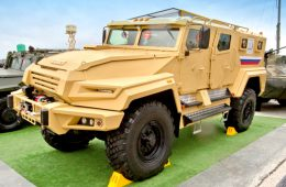 Новый российский броневик «ВПК Урал»: начались испытания