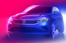 Обновленный Volkswagen Tiguan: опубликовано официальное изображение