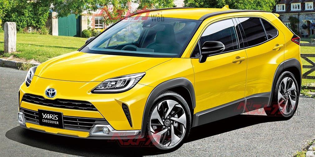 Стали известны подробности о новом компактном кроссовере Toyota