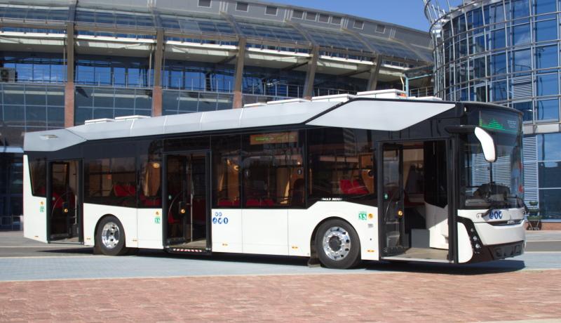 Минский автозавод представил свой первый электробус