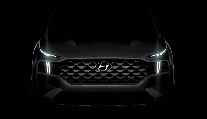 Анонсирован обновлённый кроссовер Hyundai Santa Fe