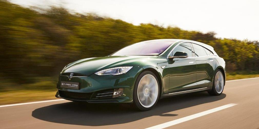 Универсал на базе Tesla Model S продадут за 19 млн рублей