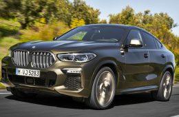В России начали выпускать новый BMW X6