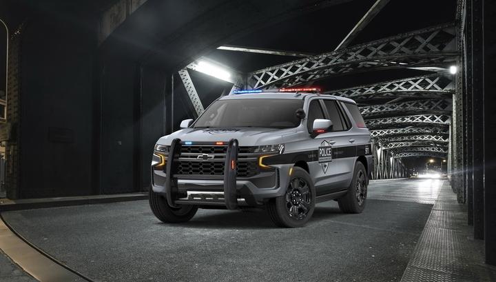 Chevrolet превратил новый новый Tahoe в перехватчик для полиции