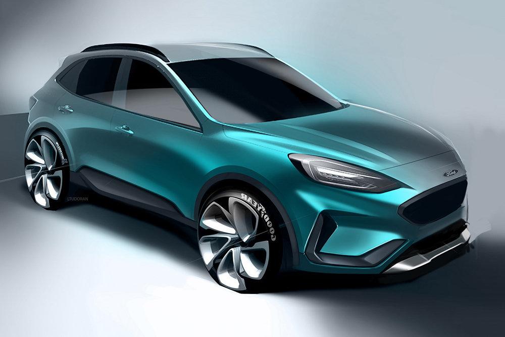 Ford готовит кроссовер — конкурента Kia Seltos и Hyundai Creta