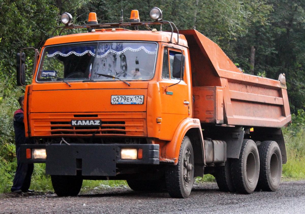 Грузовой автомобиль КамАЗ-55111