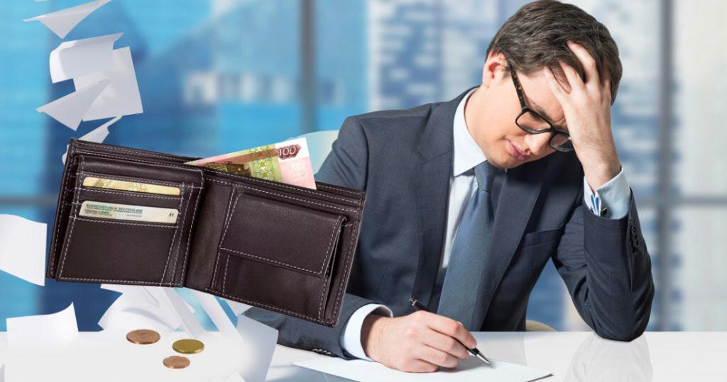 3 пункта, указывающих на скорое банкротство физического лица