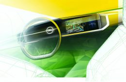 Opel показал цифровой кокпит кроссовера Mokka нового поколения
