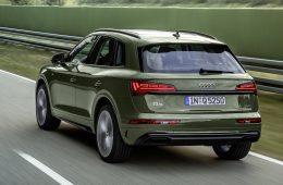 Audi провела плановое обновление кроссовера Q5
