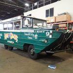Два десятка амфибий на колесах времен Второй мировой продадут на аукционе