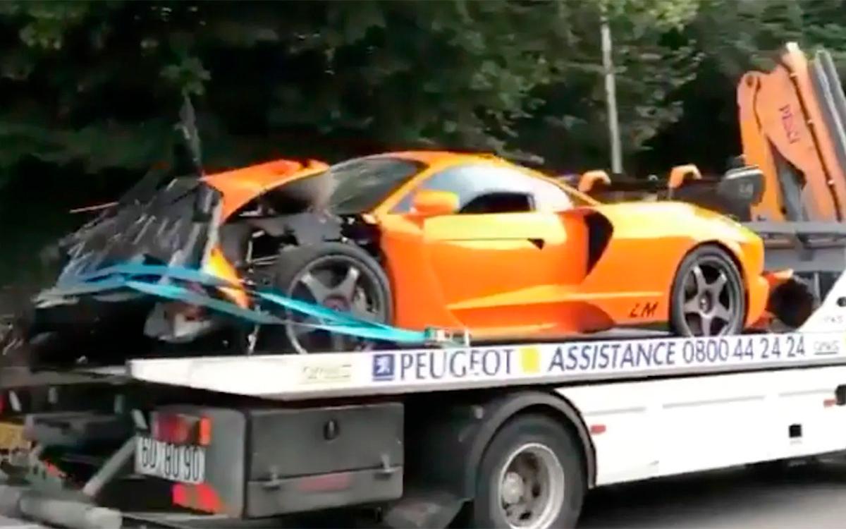 Экс-пилот Формулы-1 разбил редчайший суперкар McLaren