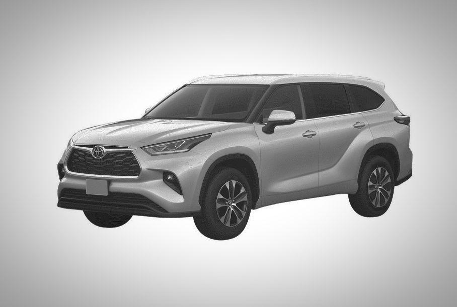 Toyota запатентовала новый Highlander для России