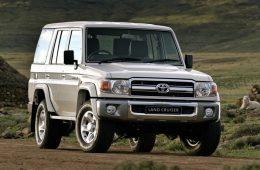 Toyota обновила старый Land Cruiser, выпускающийся с 1984 года