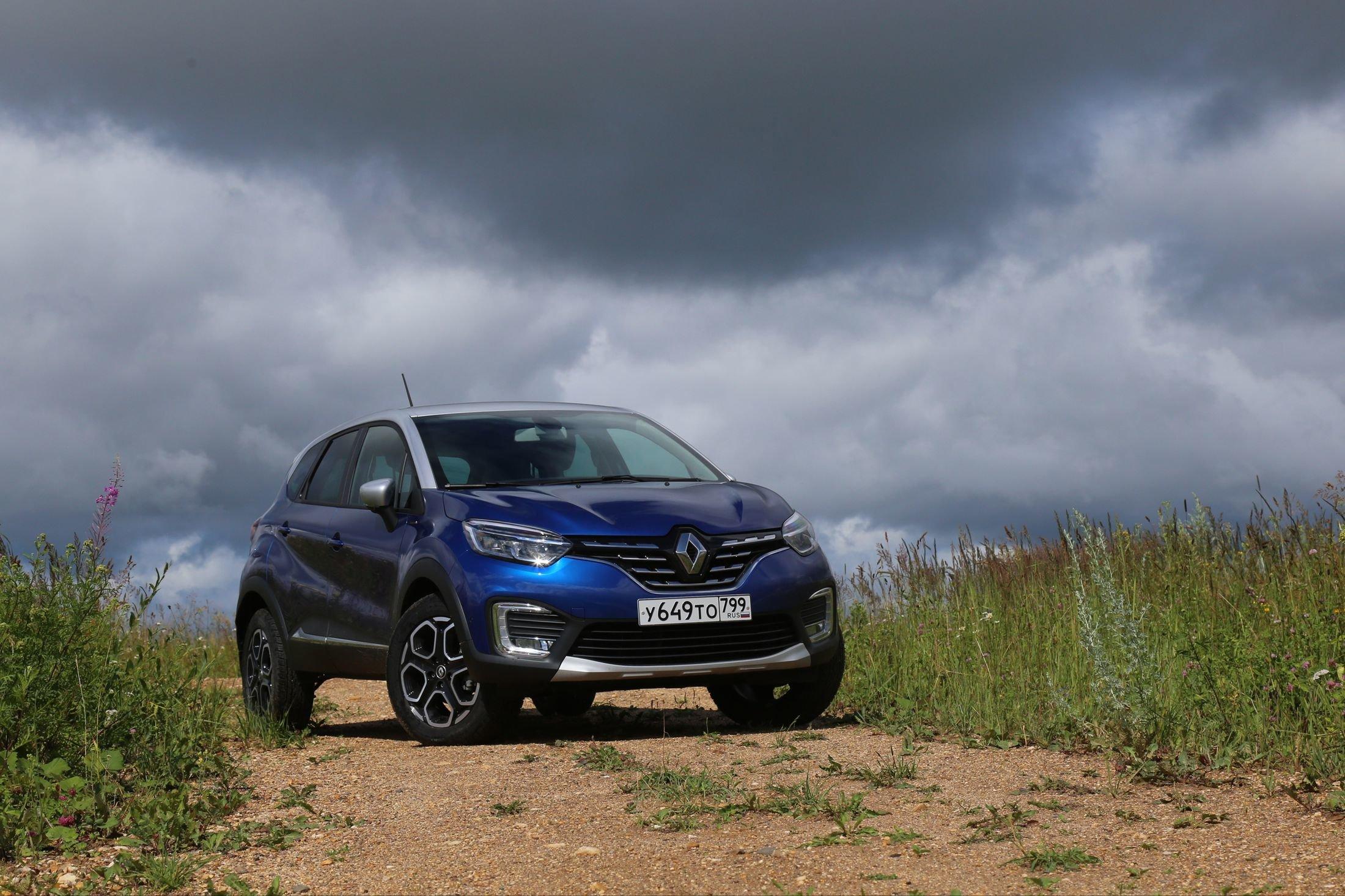 Как Renault Kaptur с турбомотором и вариатором чувствует себя в полях