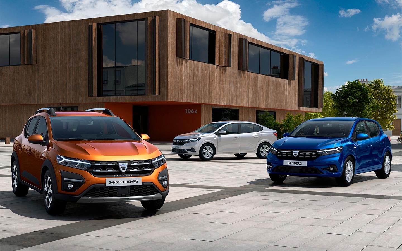 Renault показал новые Logan и Sandero