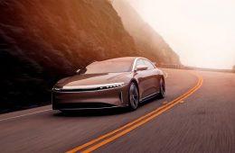 Lucid Motors выпустил электромобиль с самым большим запасом хода