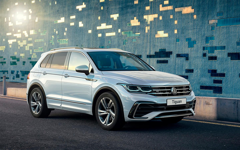 Volkswagen представил обновленный Tiguan для России