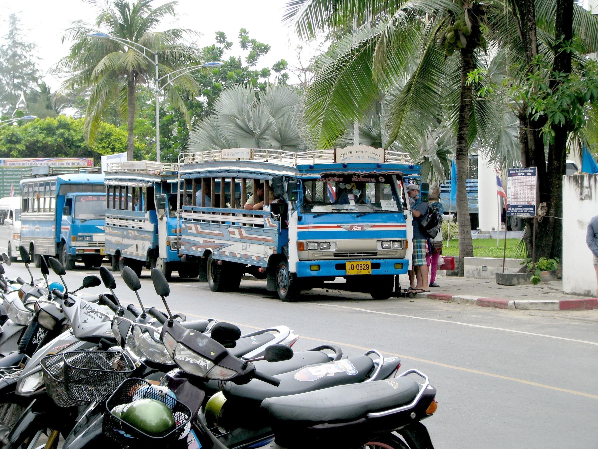Средства передвижения в Таиланде