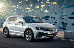 Volkswagen представил в России обновленный Tiguan