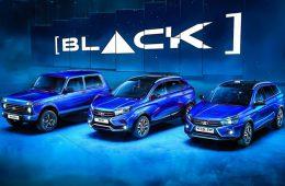 Lada 4×4 и Xray в версии Black: с черным дороже на 9000