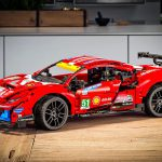 Lego выпустит конструктор с гоночным суперкаром Ferrari 488 GTE