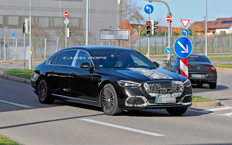 Mercedes вывел на финальные тесты самую роскошную версию S-Class
