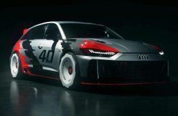 Студенты Audi разработали гоночный универсал в ретро-стиле
