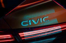 Honda анонсировала премьеру нового Civic