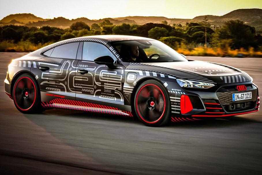Audi раскрыла подробности будущего RS E-Tron GT