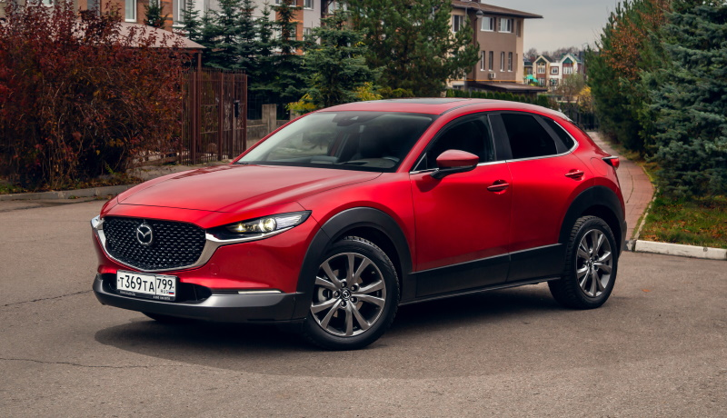 Рассекречены цены на все версии нового кроссовера Mazda CX-30