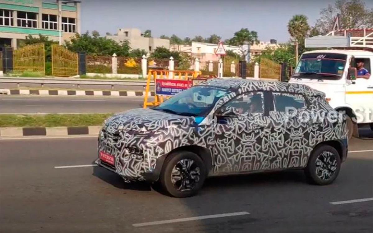 Renault начал испытания нового бюджетного кроссовера