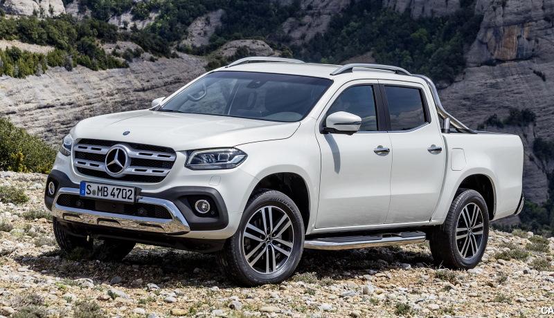 Продажи пикапов Mercedes-Benz завершились в России