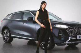 Китайцы показали кроссовер Mocha с расходом топлива 1,4 литра