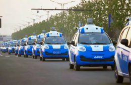 Китайский ИТ-гигант Baidu разработает электрокар совместно с Geely