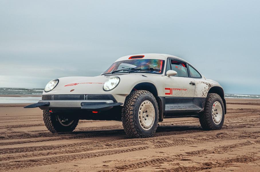 Porsche 911 превратили в экстремальный внедорожник