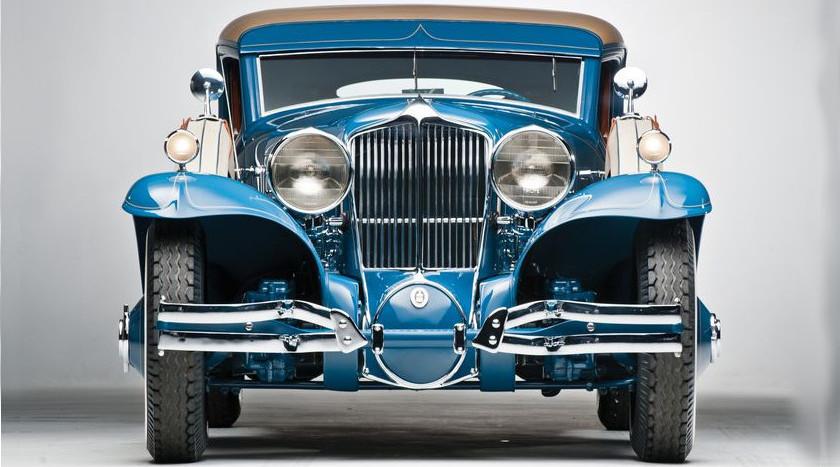 Покупка старинных авто на американских аукционах